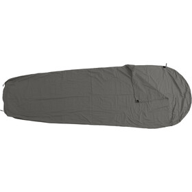 Basic Nature Mixed Sleeping Bag Liner Mummy Shape, anthracite